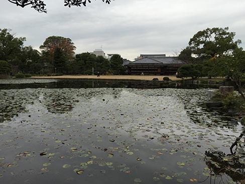 渉成園・印月池_H27.11.25撮影