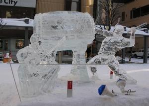 2016年バーゲン、氷像 009