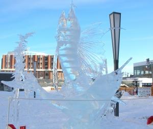 2016年バーゲン、氷像 016