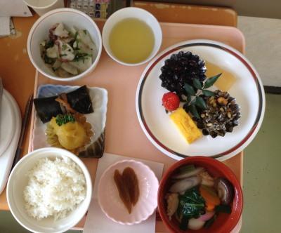 2016-01-01 08.37.09元旦朝のおせち料理