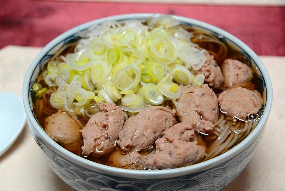 雉団子蕎麦20151230
