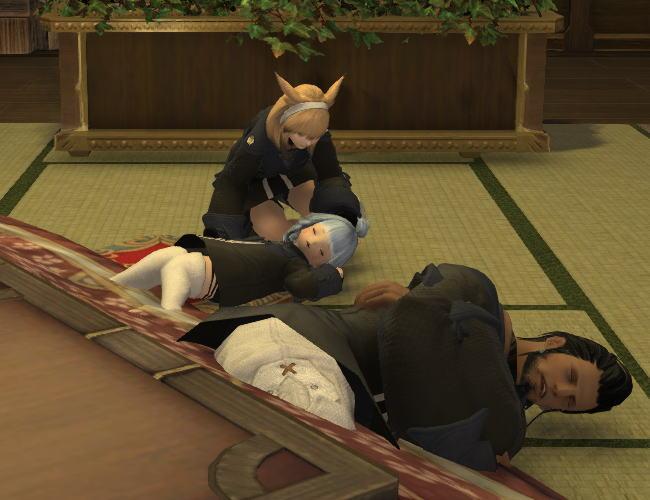 コタツ眠り15