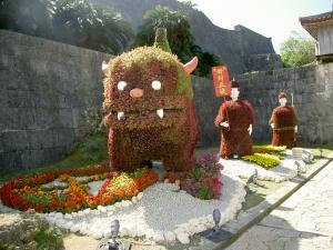 0702首里城はなまつり人形