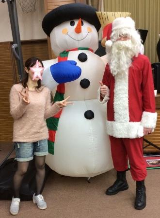 サンタさんと