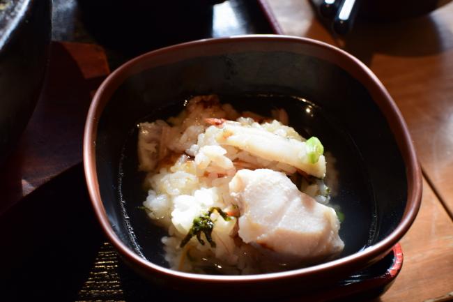 海鮮石焼丼 お茶漬け