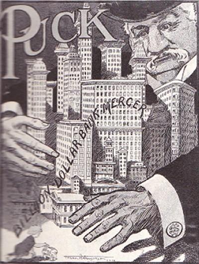 モルガン風刺画