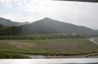 枋山駅を過ぎると山間区間へ160122