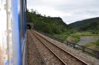 トンネルの続く枋野古莊間160122