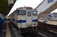 普通列車指宿駅到着160131