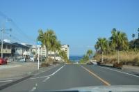 温泉街は海の近く160131