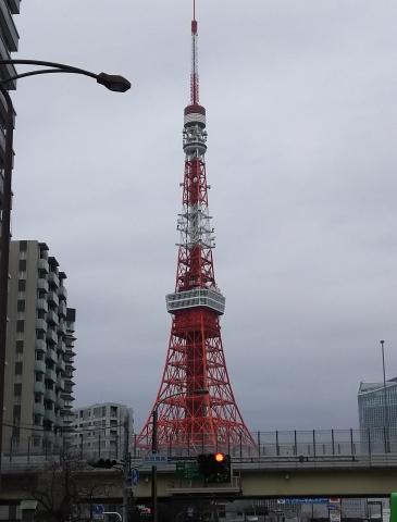 赤羽橋からタワー