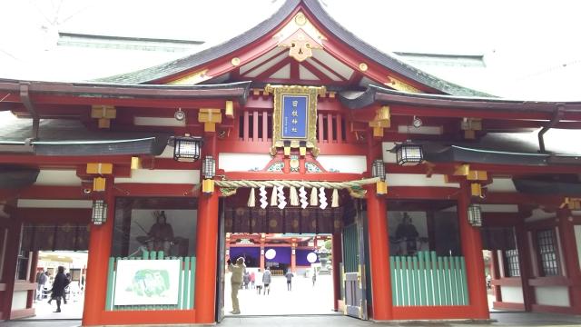 日枝神社神門