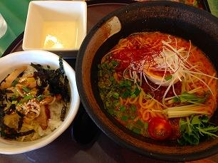0624緑埜@担々麺セット
