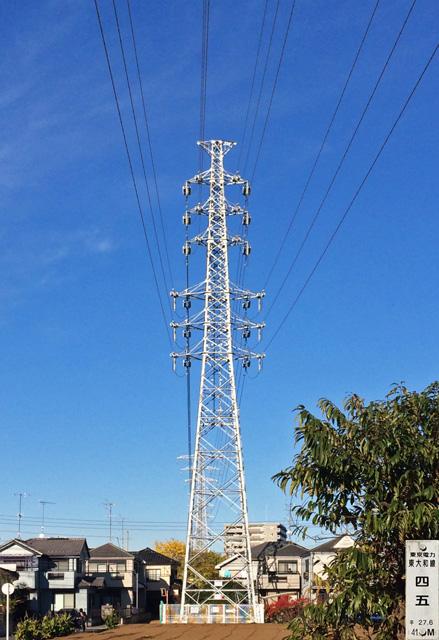 東大和線45号鉄塔