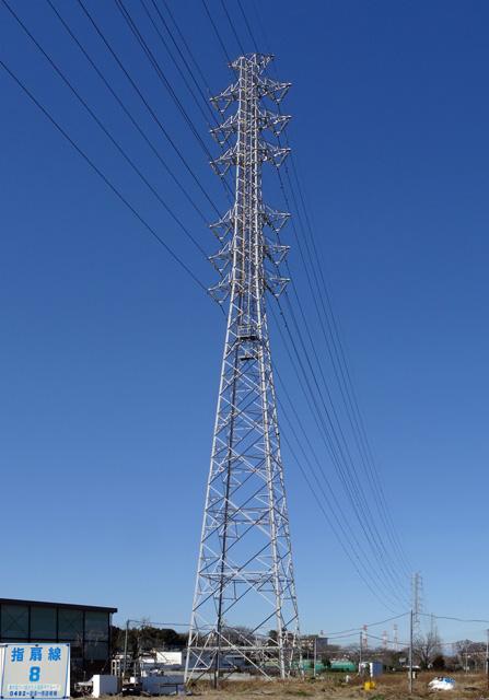 指扇線8号鉄塔
