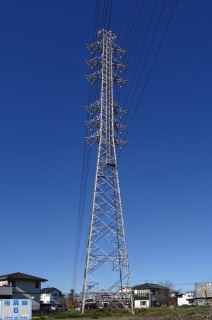 指扇線6号鉄塔