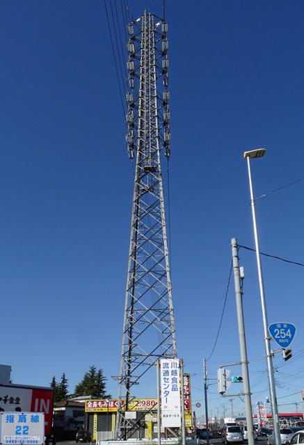 指扇線22号鉄塔