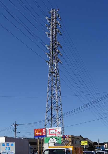 指扇線23号鉄塔