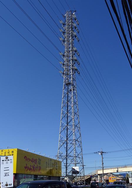 指扇線25号鉄塔
