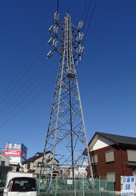 川越線56号鉄塔