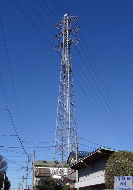 川越線53号鉄塔