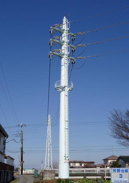 芳野台線3号鉄塔