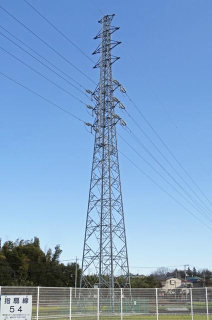 指扇線54号鉄塔