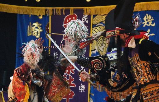岡崎神楽社中 黒塚4