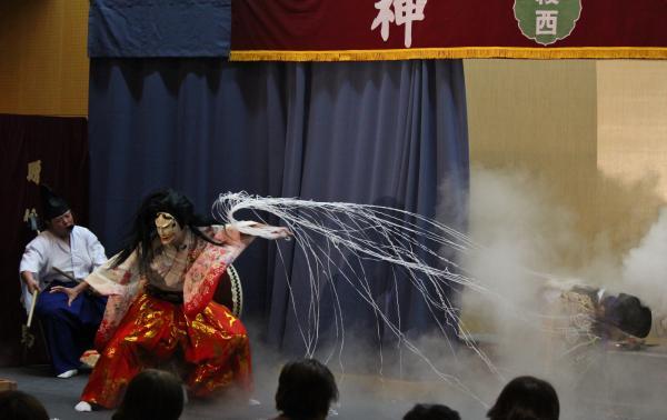 綾西神楽団 土蜘蛛2
