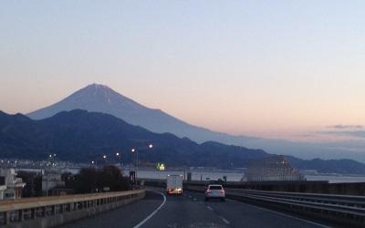 東名高速からの眺め