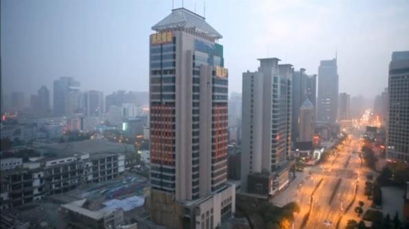 2015-12-23中国のビル取り壊し写真1