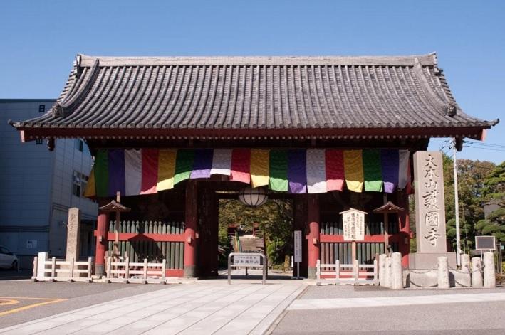 2016-1-9護国寺仁王門