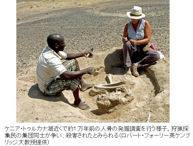 2016-1-21ケニア・トゥルカナ湖付近の発掘調査写真