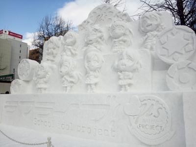 ラブライブ雪像 (400x300)