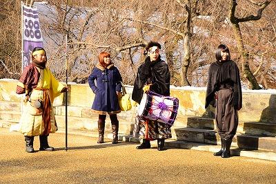 上田城前の十勇士