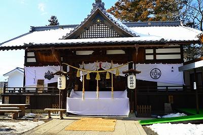 上田城内 真田神社