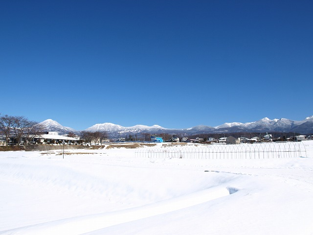 20160126快晴の上古田雪景色 (24)