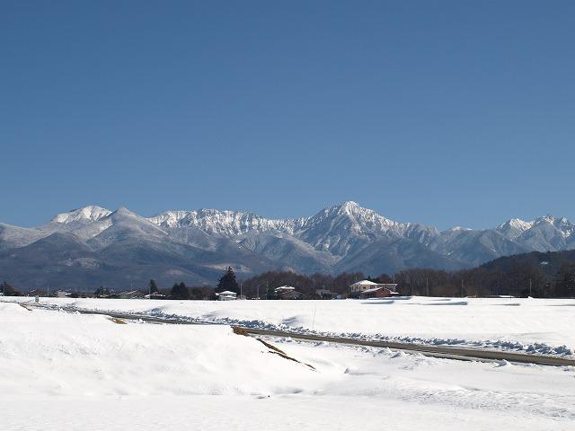 20160126快晴の上古田雪景色 (14)