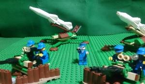 防空陣地を形成するHQ-75(1)