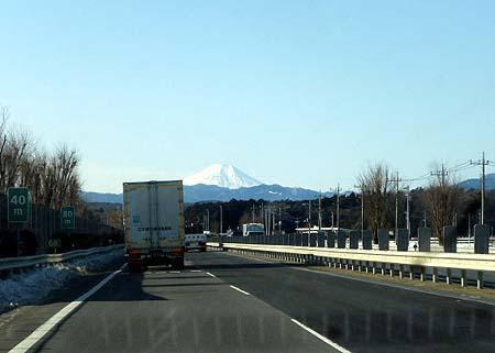 圏央道・富士山