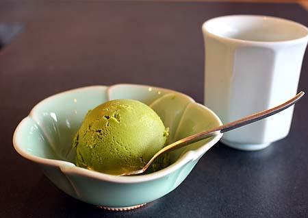 抹茶アイス デザ-ト