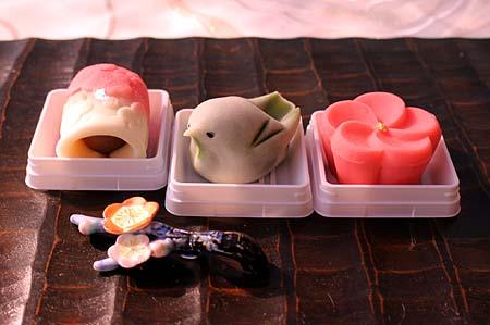 季節の和菓子 1