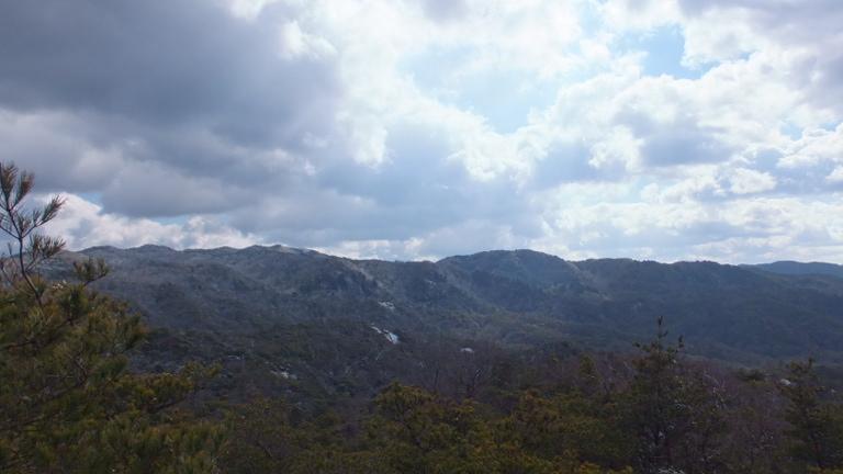 三国山方面