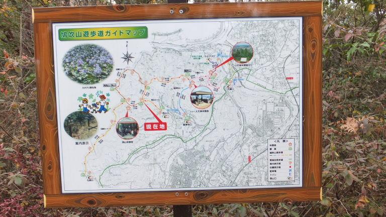 鳩吹山 地図