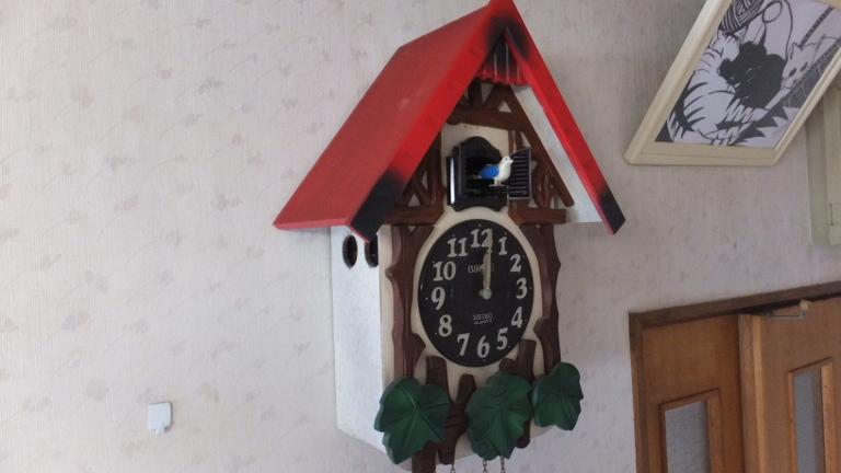 初代 鳩時計