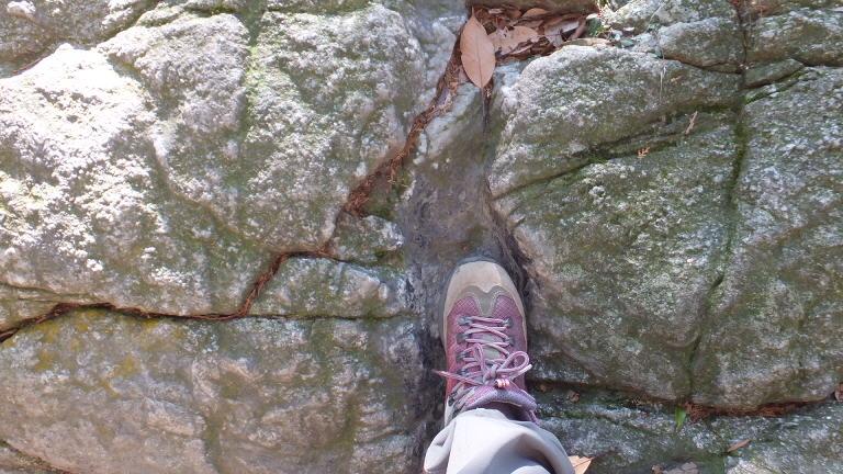 山姥の足跡