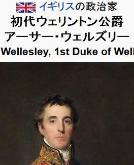 wikiアーサー・ウェルズリー (初代ウェリントン公爵)205