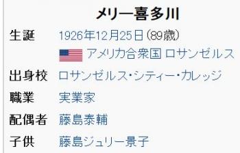 wikiメリー喜多川