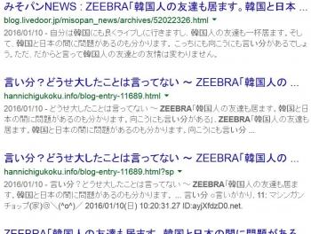 seaZeebra 韓国 言い分
