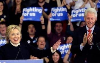 news【米大統領選】ニューハンプシャー州予備選 クリントン氏、敗北を認める